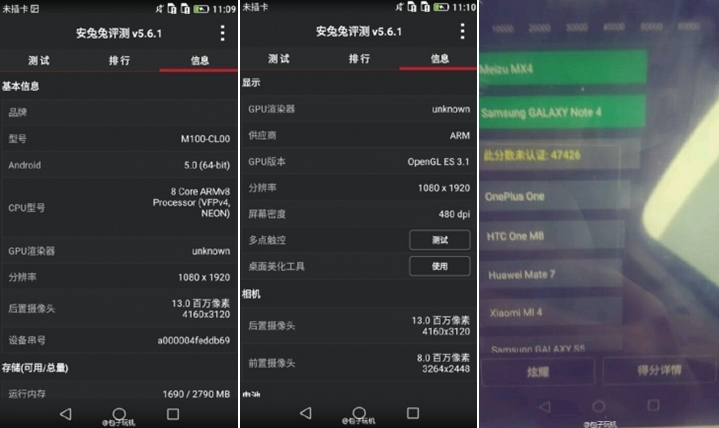Huawei P8 se afișează camuflat într-o serie de imagini live