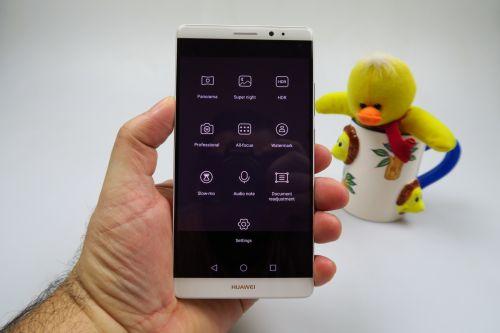 Setarile camerei lui Huawei Mate 8
