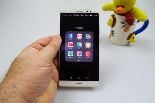 Huawei Mate 8 UI & OS