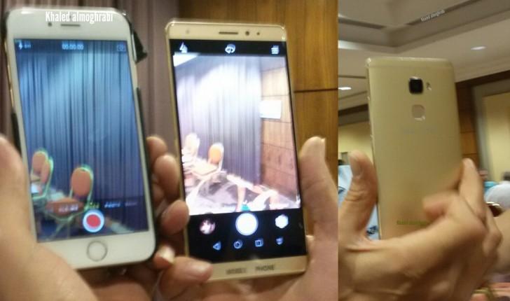 Noi fotografii hands on cu Huawei Mate S îl compară cu iPhone 6