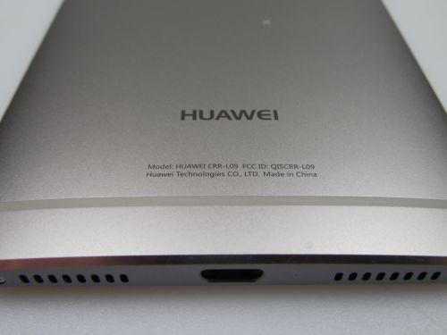 Huawei Mate S partea de jos
