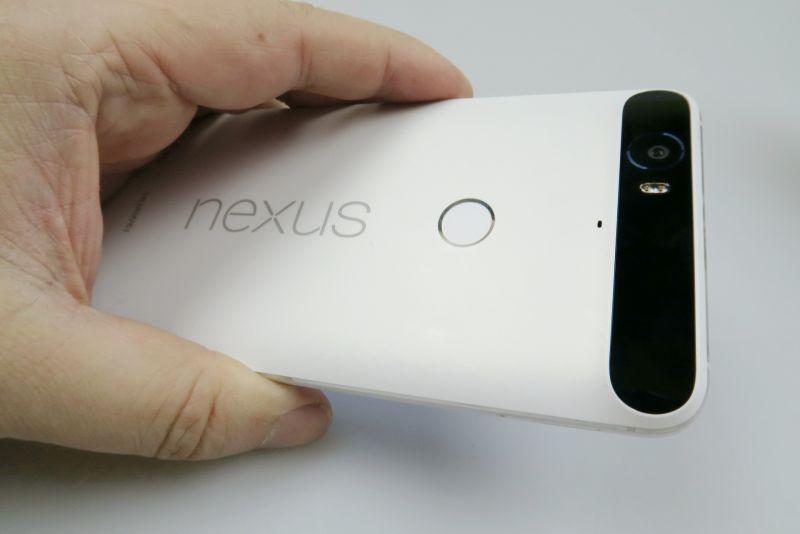 Huawei Nexus 6P din față