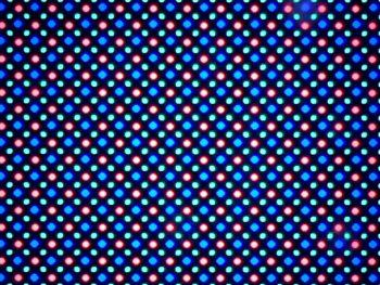 Huawei Nexus 6P, ecran vazut prin microscop