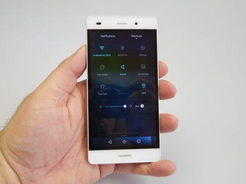 Huawei P8 Lite - Zona de setari