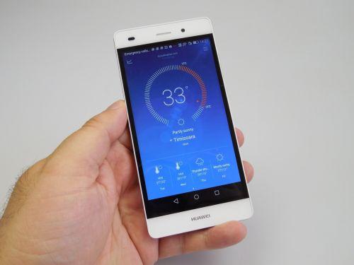 Recenzie Huawei P8 Lite