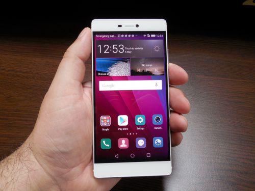 Ecranul lui Huawei P8
