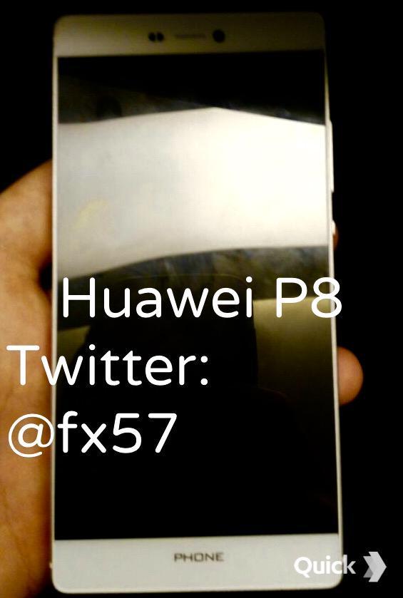 Un presupus Huawei P8 scăpa pe web în imagini şi specificaţii, prin intermediul unei surse din Turcia