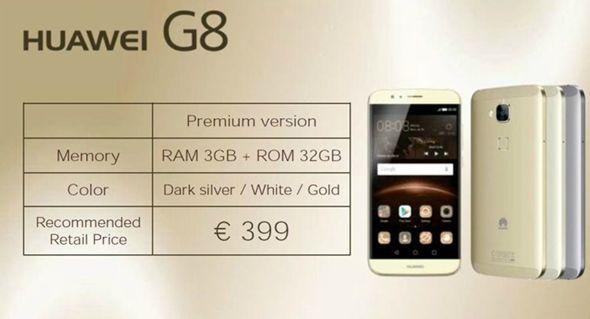Pret Huawei G8