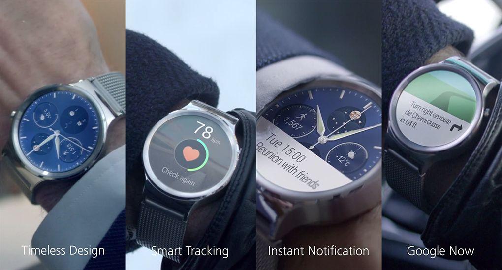 MWC 2015: Huawei Watch e probabil cel mai arătos ceas cu Android Wear aparut până acum