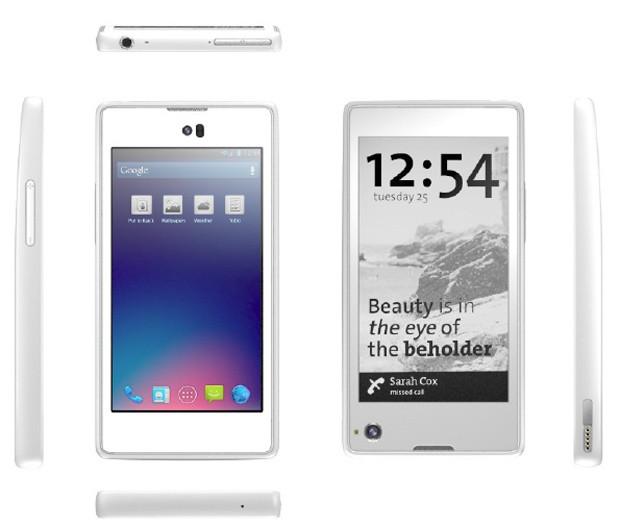 Rușii de la Yota Devices pregătesc un telefon dual display, cu LCD și E Ink pentru 2013 (Video)