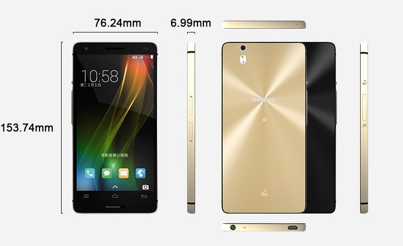 InFocus M810 lansat oficial În Taiwan; vine cu display Full HD de 5.5 inch și procesor quad-core Snapdragon 801