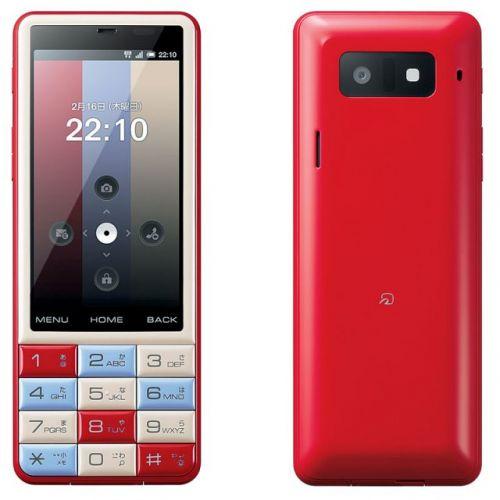 Infobar C01, un telefon Android colorat și trendy, direct din Japonia (Video)