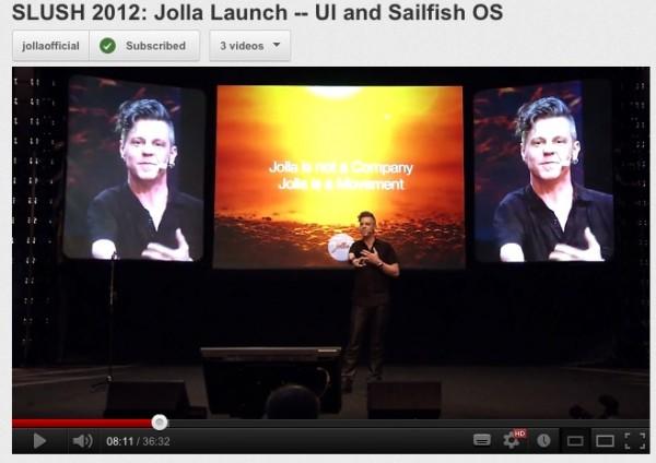 Iată conferința oficială de lansare Jolla Sailfish; Angajați tineri și multe perspective! (Video)