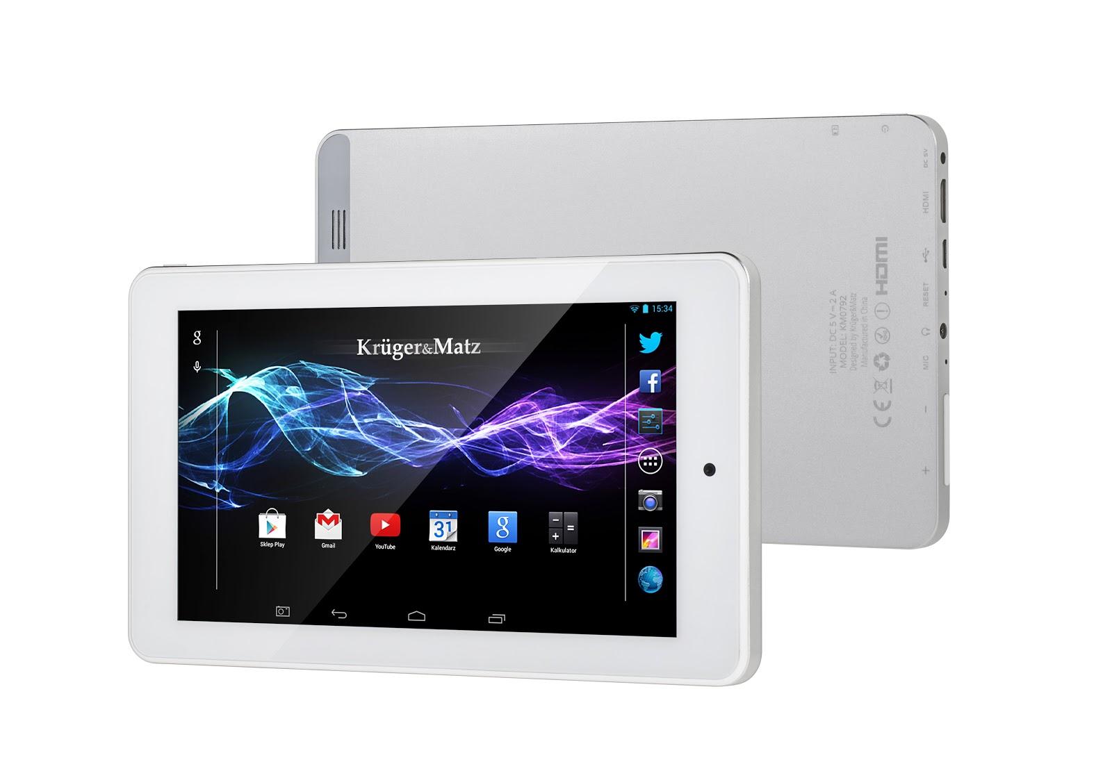 Krüger&Matz lansează o nouă serie de tablete din gama Eagle: modele de 7 și 10 inch