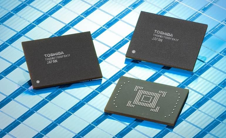 Memoria NAND Flash Toshiba