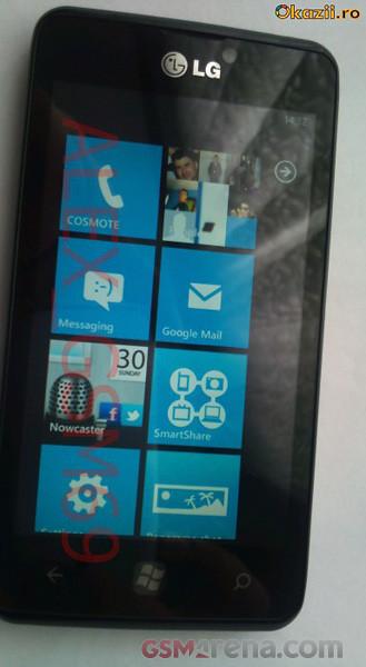 LG Fantasy E740 cu Windows Phone - mai multe imagini pe un site de comerț din România