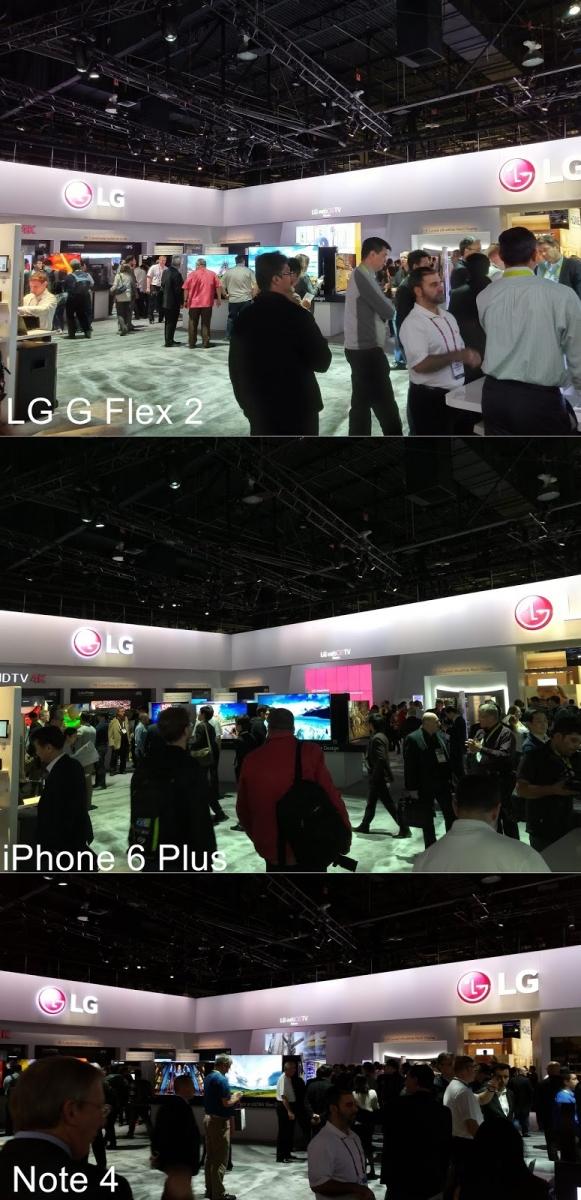 LG G Flex 2 comparat În cadrul unui test foto cu Galaxy Note 4 și iPhone 6 Plus