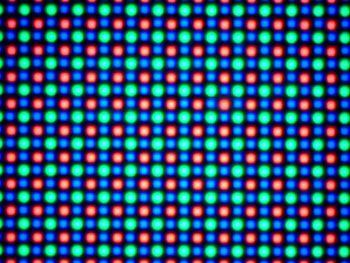 LG G Flex 2 ecran la microscop