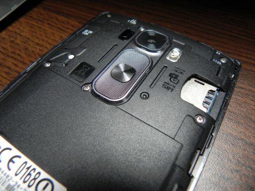 LG G Flex 2 cu capacul spate inlaturat