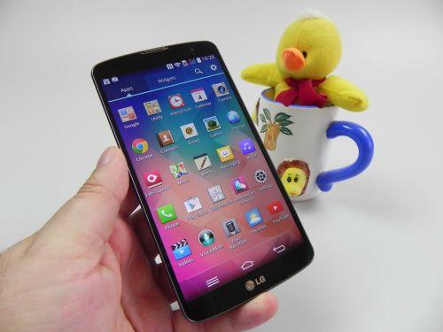 Aplicatiile de pe LG G Pro 2