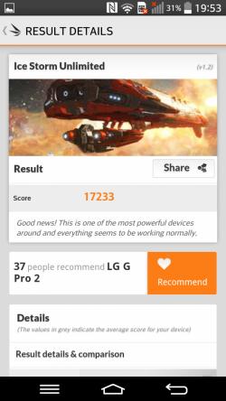 LG G Pro 2 - 3D Mark