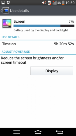 LG G Pro 2 - bateria