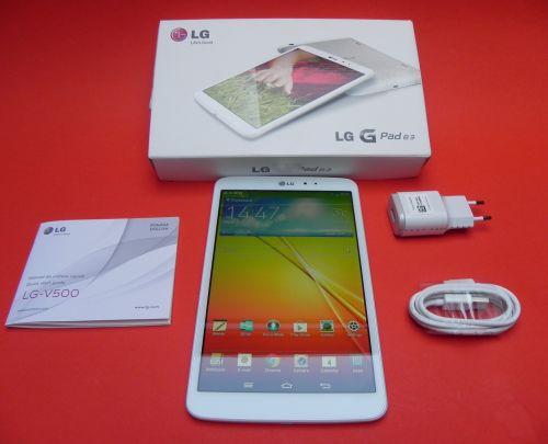 LG G Pad 8.3 unboxing