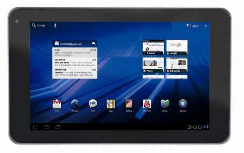 LG G-Slate, prima tabletă cu display și cameră 3D, confirmată oficial; acum și cu specificații