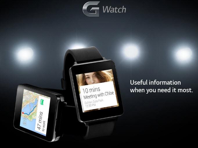 LG dezvăluie noi imagini și specificații ale ceasului inteligent G Watch
