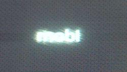 Display LG G2 pe negru