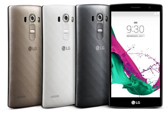 LG anunţă telefonul midrange G4 Beat, cu un design similar cu G4 în varianta cu spate din plastic