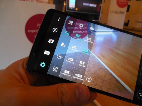 LG G3 - captura vide 4K - UHD