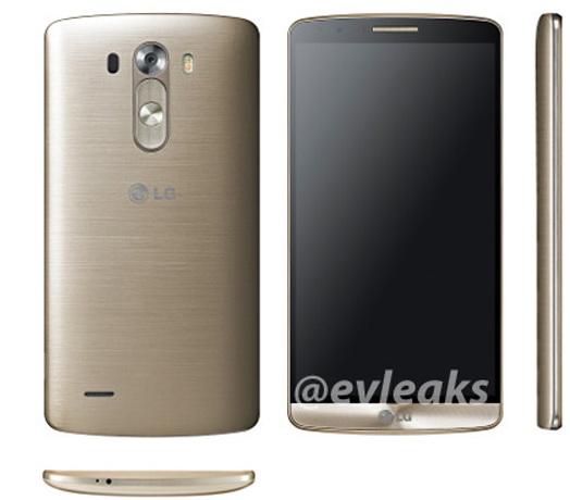 Încă o serie de randari ale lui LG G3 Își face apariția pe web