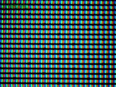 Display-ul lui LG G3 la microscop