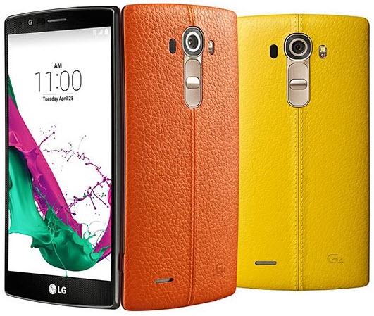 LG G4 lansat în noi culori în Taiwan, precum galben sau portocaliu