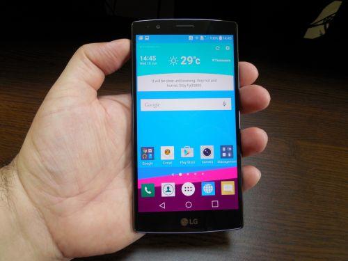 Ecranul lui LG G4