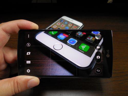 Camera lui LG G4
