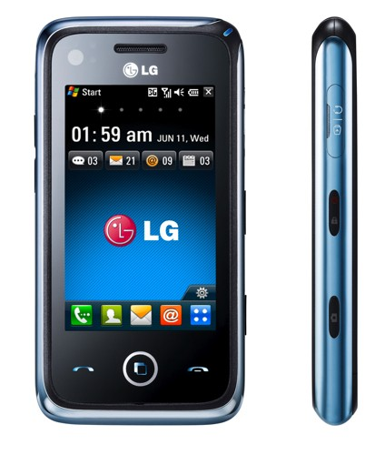 LG anunta telefonul Windows Mobile GM730, cu interfata S-Class