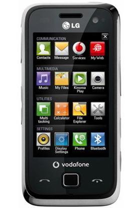 Vodafone anunta telefonul LG GM750, cu Windows Mobile 6.5 la bord