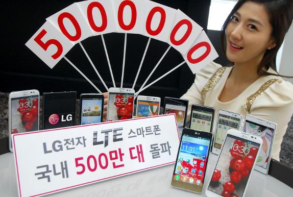 LG a vândut peste 5 milioane de telefoane cu tehnologia 4G În Coreea de Sud