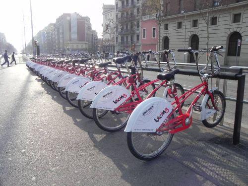 Biciclete in Barcelona