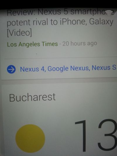 Mici probleme cu Nexus 5: particulă de praf sau pixel mort? Câteva cazuri confirmate În UK, România și SUA