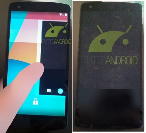 Noi imagini cu Nexus 5 rulând Android 4.4 KitKat