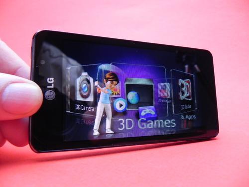 LG Optimus 3D Max - mod 3D