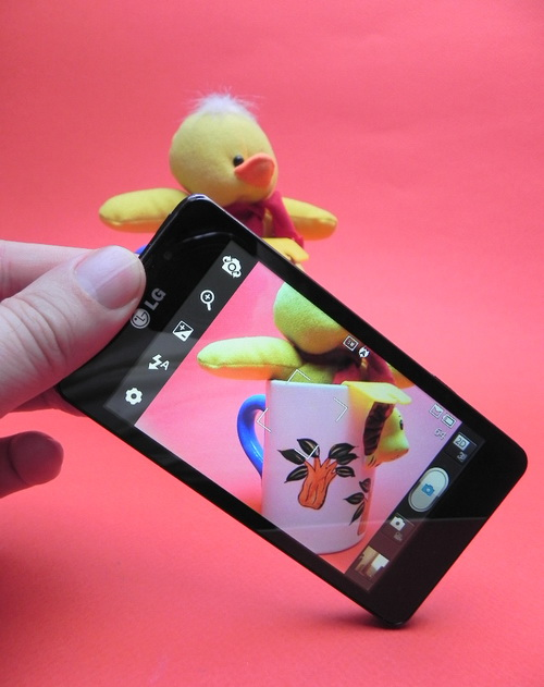 LG Optimus 3D Max - camera