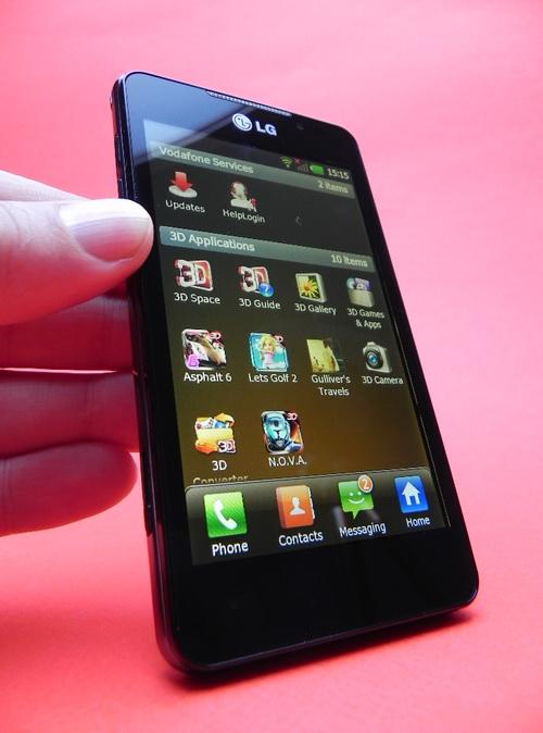 LG Optimus 3D Max - jocuri 3D