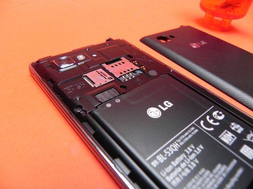 Sub carcasa lui LG Optimus 4X HD
