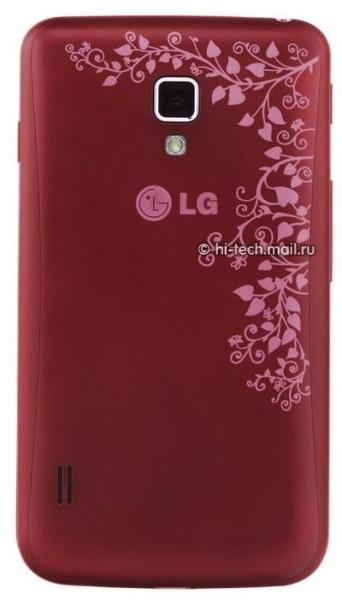 LG Optimus L7 II motiv floral