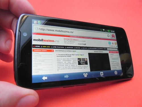 LG Optimus LTE P936 - browser
