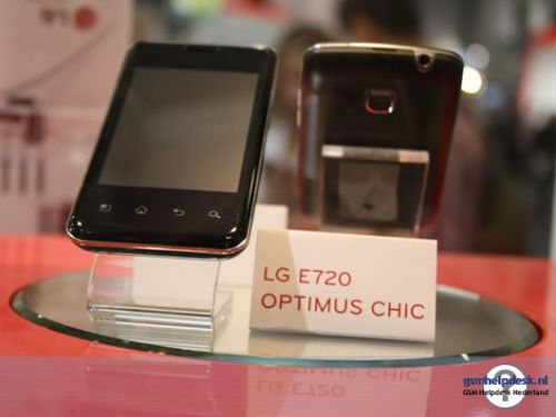 LG Optimus One si Optimus Chic ni se dezvaluie: imagini hands on si specificatii